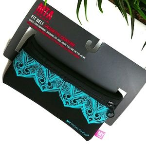 NWT MY TAGALONGS Fitness Belt MTA Running Gym Teal